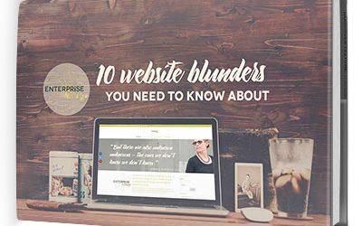 eBook: 10 WEBSITE BLUNDERS