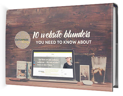 eBook - 10 Website Blunders 2016