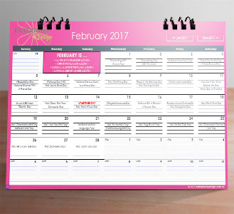 2017 Social Media Calendar