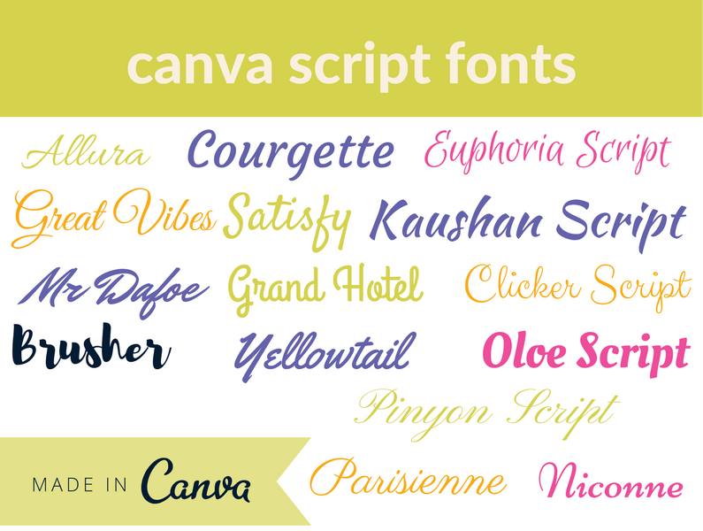 canva fonts – scroll no more! - * Enterprise by Design *