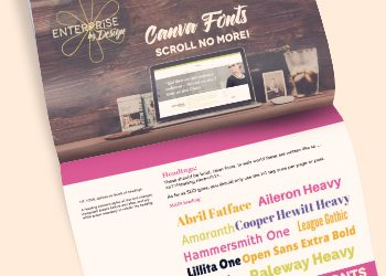 canva fonts – scroll no more!