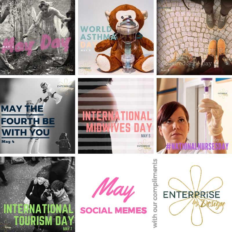May 01-07 FREE social media