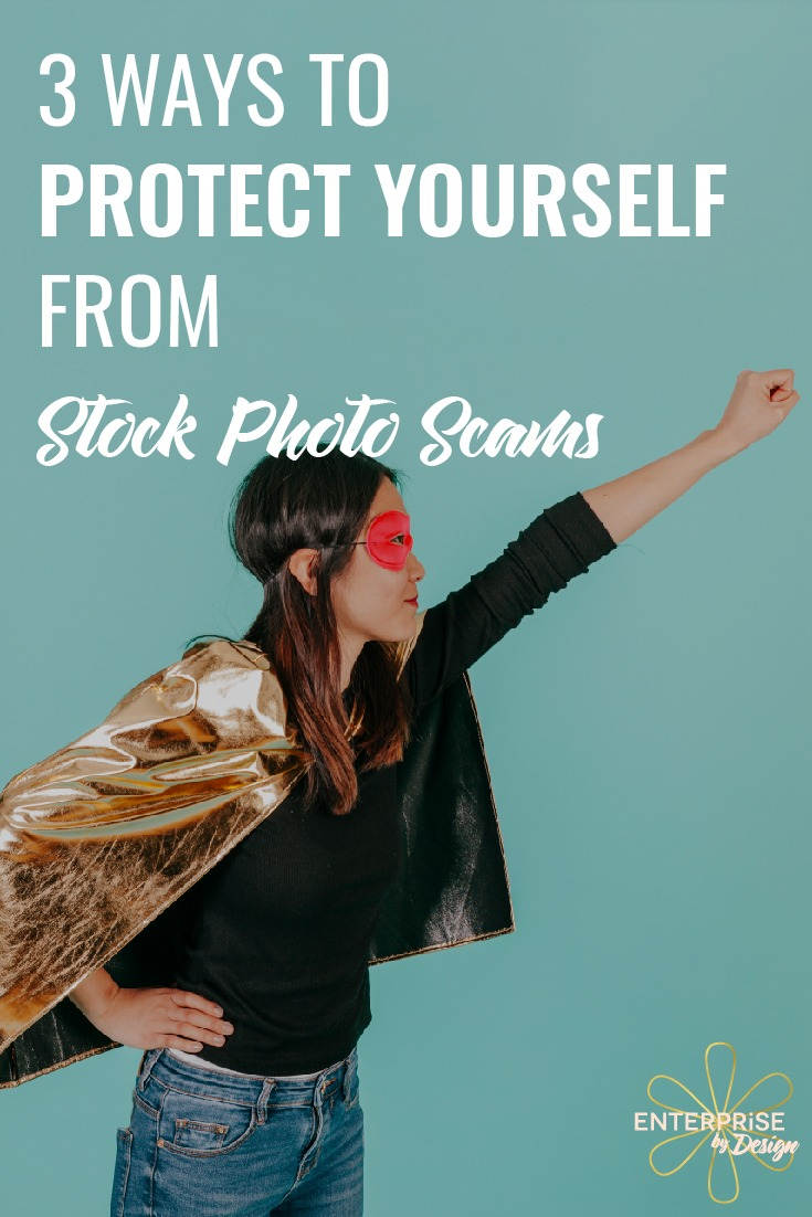 stock photo scams