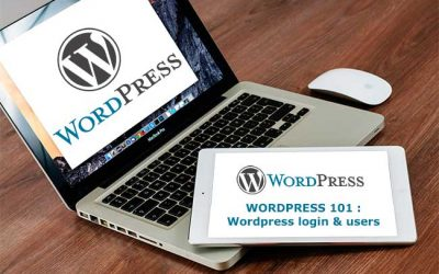 WordPress 101 : Login & Users