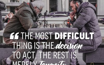 Decide to act
