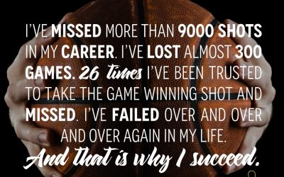 Success according to Michael Jordan