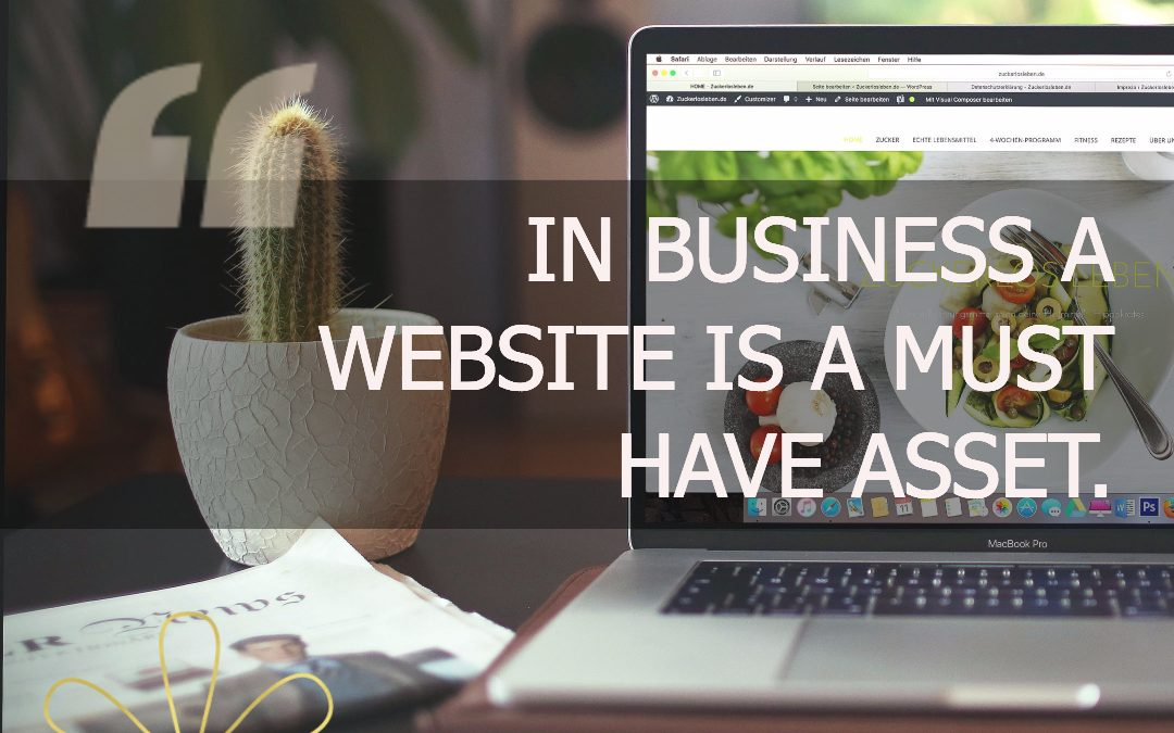 In business a website is a must have asset