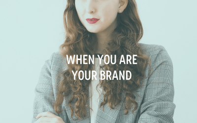 When You Are Your Brand