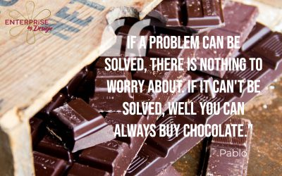 If a problem can't be solved …