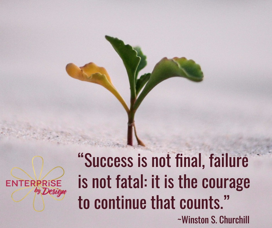 The courage to continue