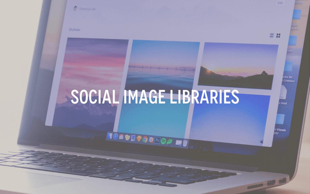Social Image Libraries