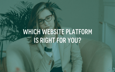 Which Website Platform Is Right For You?