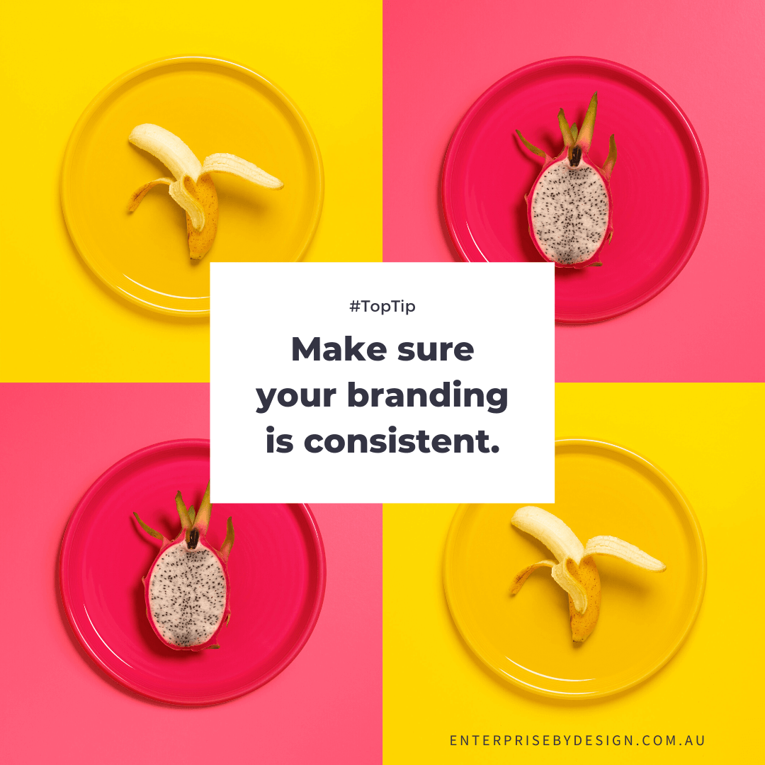 Make sure you are consistent in your marketing