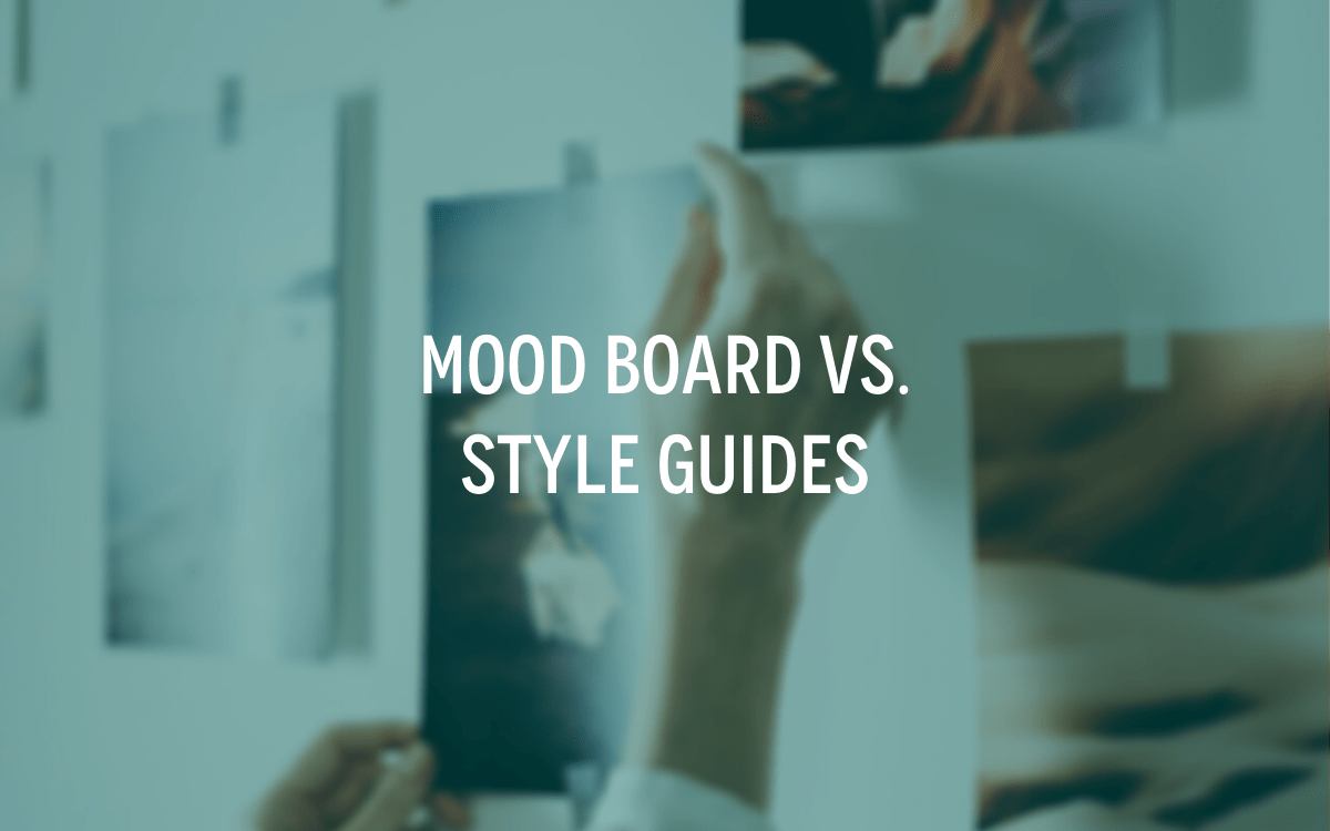 moodboard vs style guide
