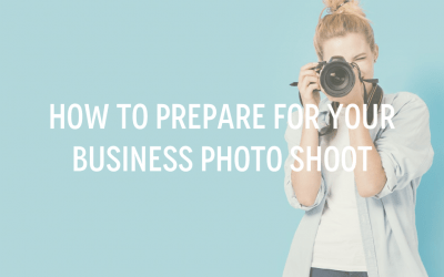 How to prepare for your business photo shoot
