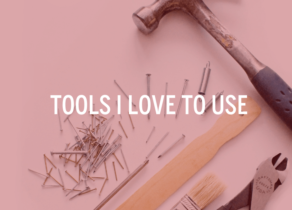 Online Tools that I love to use