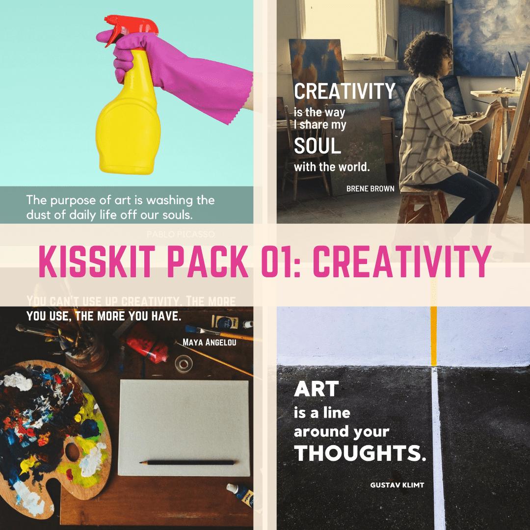 KISSkit 01 creativity