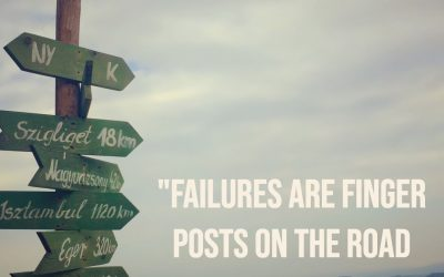 Failures are finger posts …