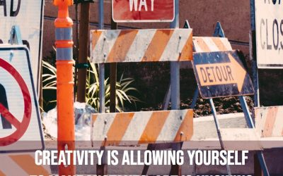 Creativity is allowing yourself to make mistakes …